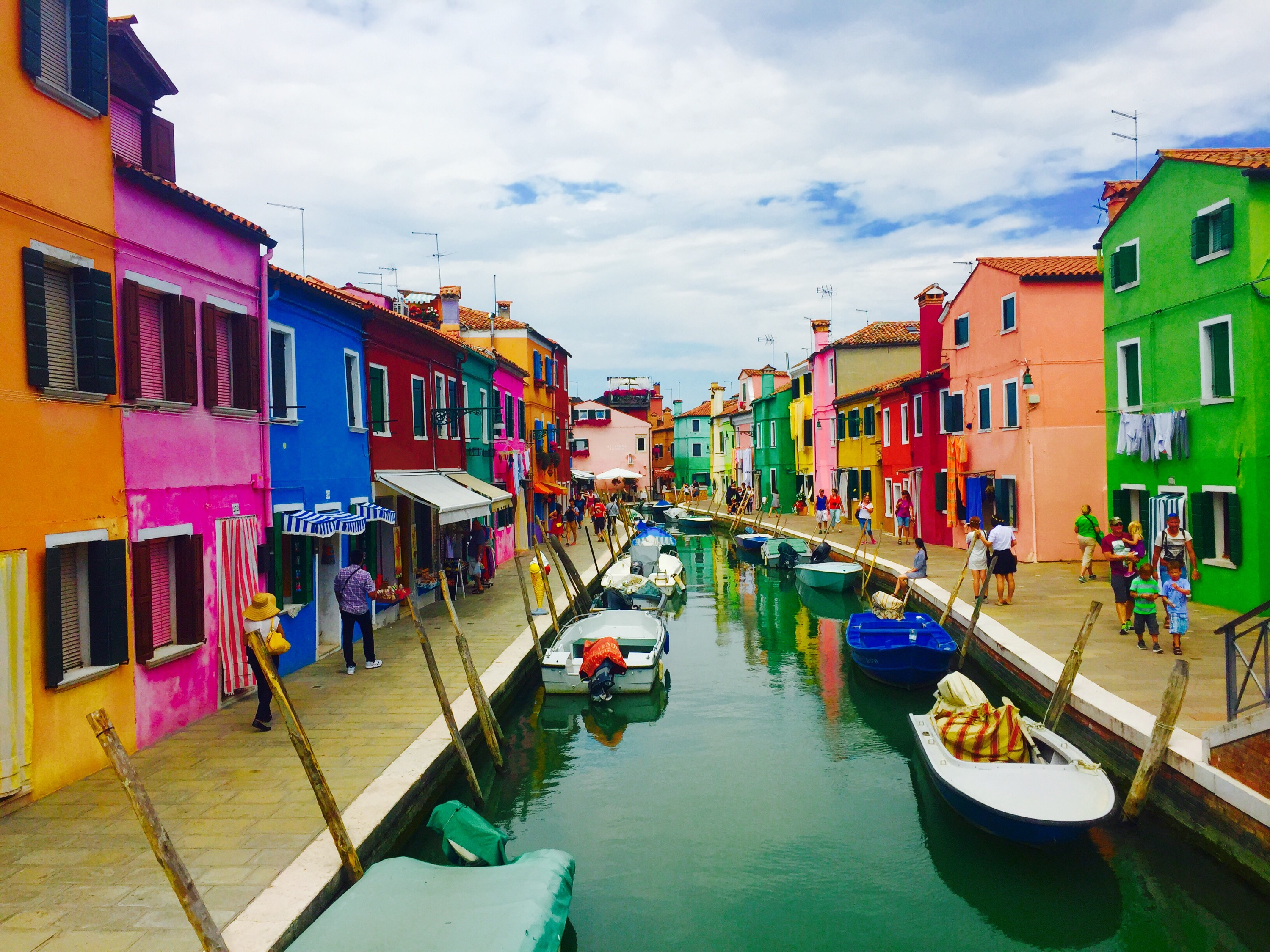 Colorful burano italy burano tourism - One Of The Most Colorful Cities In The World An Island In Italy Called Burano